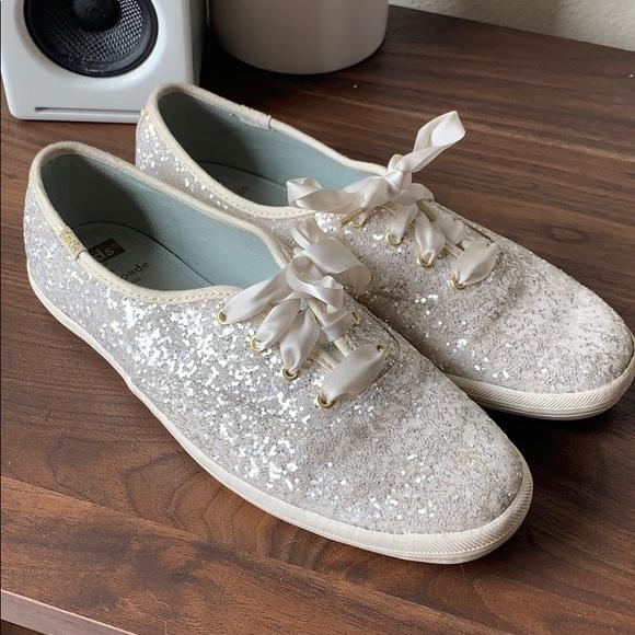 kate spade sequin sneakers